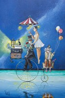 The Circus Is Coming to Town Fine Art Print