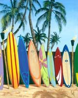 Bunch of Boards Fine Art Print