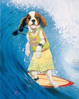 Surf Dawg Fine Art Print
