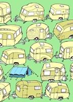 Odd Ones - Tent Fine Art Print