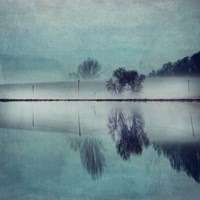 Misty Mirror Fine Art Print