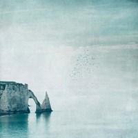 Porte d'aval & Aiguille - Normandy Fine Art Print