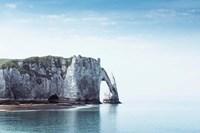Porte d'aval & Aiguille Rock Fine Art Print