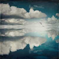 Spaces II - Sea of Clouds Fine Art Print