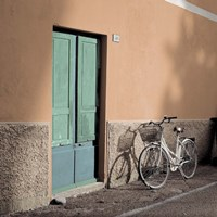 Liguria Bicycle Fine Art Print