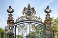 Park Monceau Gates Fine Art Print