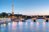 Twilight on the Seine Fine Art Print