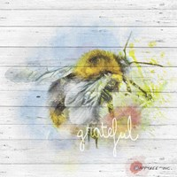 Bee Grateful Fine Art Print
