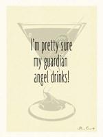 Guardian Angel Drinks Fine Art Print