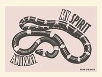 Spirit Animal Snake Fine Art Print