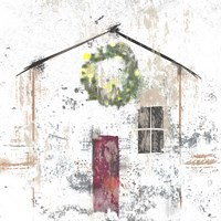 Christmas House Fine Art Print