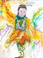 The Shawl Dancer Fine Art Print