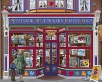 Professor Puzzles Fine Art Print