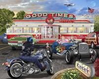 Good Times Diner Fine Art Print