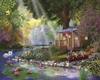 Butterfly Lake Fine Art Print