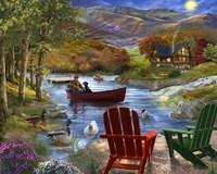 Lake Life Fine Art Print