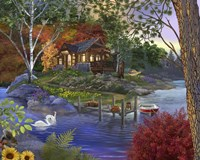 Memory Lake Fine Art Print