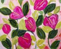 Exotic Blooms Fine Art Print