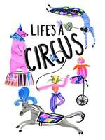 Circus Fun IV Framed Print