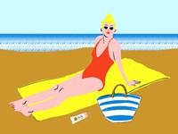 Beachy Keen II Fine Art Print
