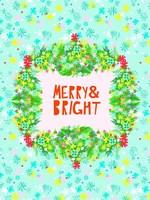 Merry & Bright II Fine Art Print