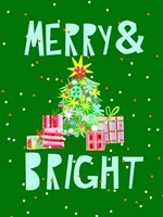 Merry & Bright VI Fine Art Print