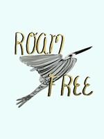 Roam Free IV Framed Print