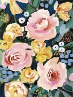 Flower Jumble I Framed Print