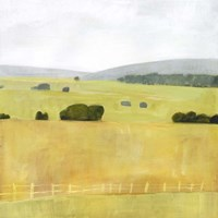 Soft Fieldscape I Fine Art Print