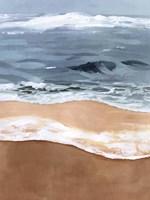 Shore Layers II Framed Print