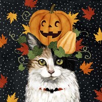 Halloween Cat II Fine Art Print