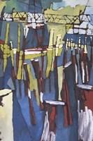 Maine Sails Portland II Framed Print