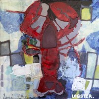 Brilliant Maine Lobster I Fine Art Print