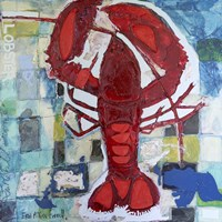 Brilliant Maine Lobster III Fine Art Print