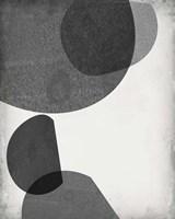 Grey Shapes I Fine Art Print