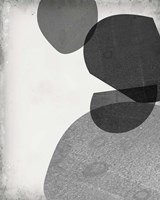 Grey Shapes IV Fine Art Print