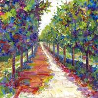 Lime Walk Fine Art Print