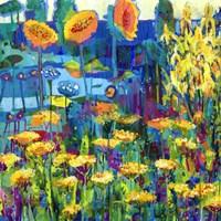 Yellow Garden I Fine Art Print