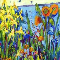 Yellow Garden II Fine Art Print