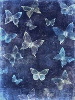 Indigo Flight II Fine Art Print