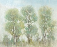 Muted Trees I Fine Art Print