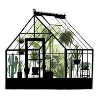 Glass House I Fine Art Print