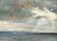 Study of Sea and Sky Fine Art Print
