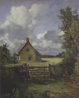 Cottage in a Cornfield, 1833 Fine Art Print