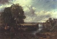 View of the Stour near Dedham Fine Art Print