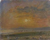 Shoreham Bay, Evening Sunset Fine Art Print