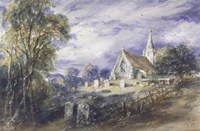 Stoke Poges Church Fine Art Print