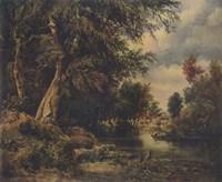Landscape, 1911 Fine Art Print