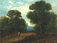 Landscape Near Norwich Fine Art Print