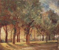 The Judges' Walk, Hampstead Fine Art Print